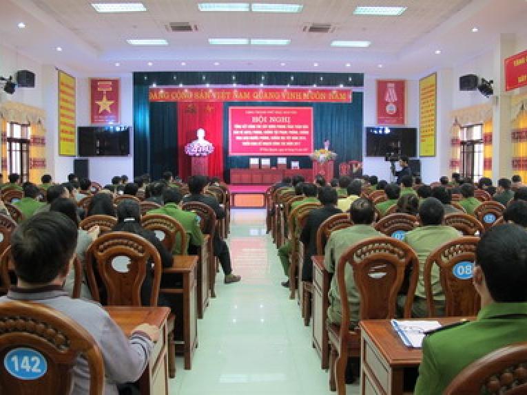 TP Thái Nguyên: Tổng kết công tác phòng, chống tội phạm, ma túy, mua bán người