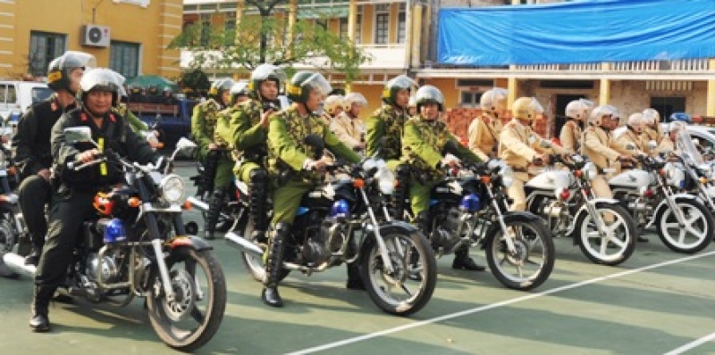 Đảm bảo an ninh trật tự phục vụ nhân dân đón Tết