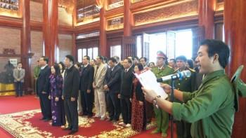 Lãnh đạo TP Thái Nguyên dâng hương, tưởng niệm các liệt sỹ thanh niên xung phong
