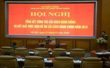 ban chi dao cai cach hanh chinh bo quoc phong hop trien khai nhiem vu nam 2020