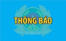 vu viec tai dong tam thong tin chinh thuc tu bo cong an