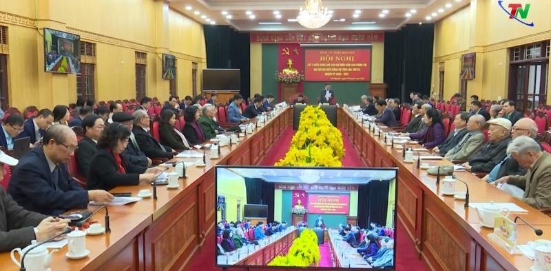 Lấy ý kiến đóng góp vào dự thảo Báo cáo Chính trị Đại hội Đại biểu Đảng bộ tỉnh lần thứ XX