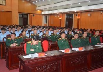 Lễ tiễn quân nhân hoàn thành nghĩa vụ quân sự về địa phương