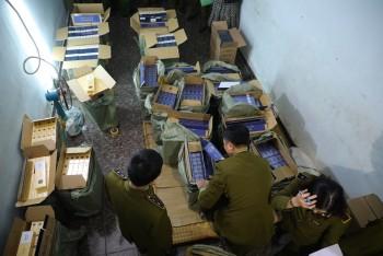 Thu giữ hàng chục nghìn bao thuốc lá nhập lậu