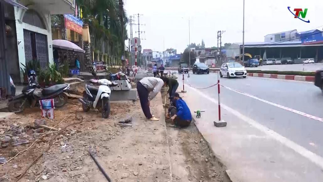 Đảm bảo an toàn giao thông tại các công trình chỉnh trang đô thị