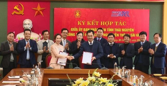 Ký kết hợp tác tài trợ kinh phí lập quy hoạch tỉnh Thái Nguyên và thực hiện chuyển đổi số