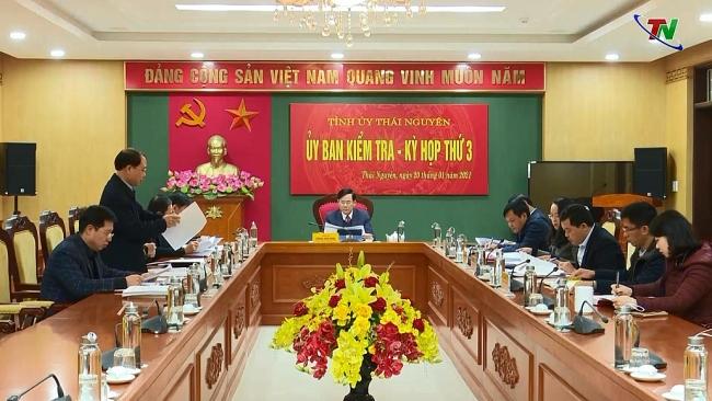 Kỳ họp thứ 3, Ủy ban Kiểm tra Tỉnh ủy khoá XX