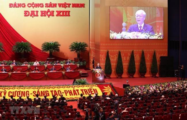 Khai mạc ĐH Đảng XIII: Đẩy mạnh toàn diện, đồng bộ công cuộc đổi mới