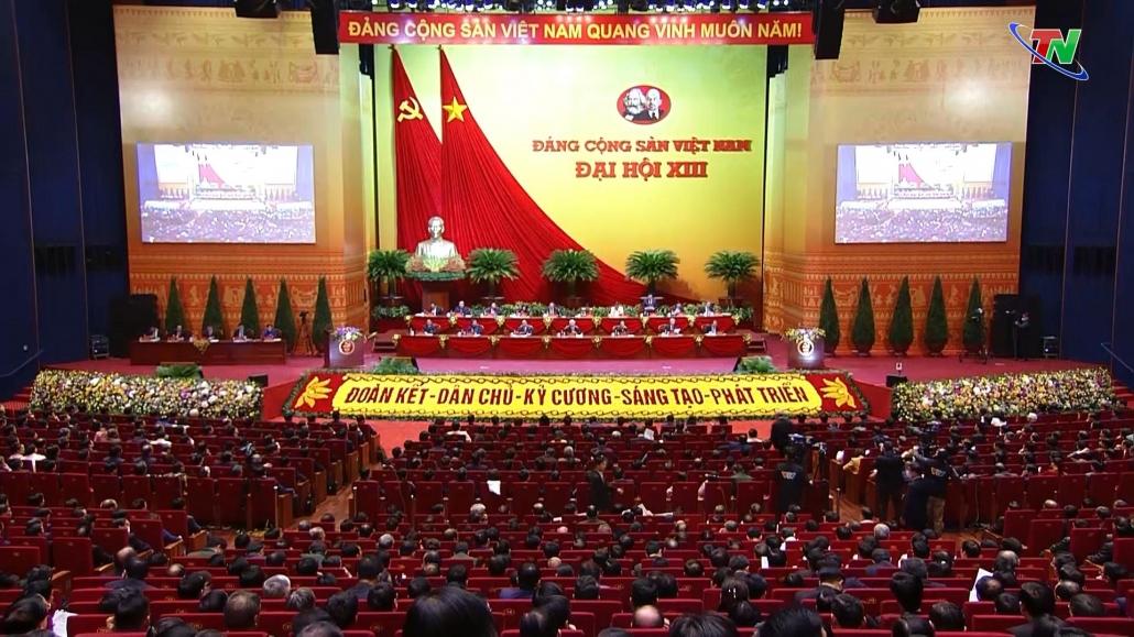 Đại hội lần thứ XIII của Đảng thực hiện các nội dung công tác nhân sự Đại hội