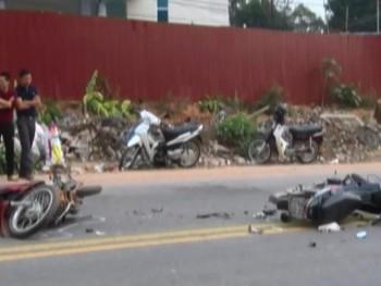 Phú Bình: Tai nạn giao thông làm 4 người bị thương