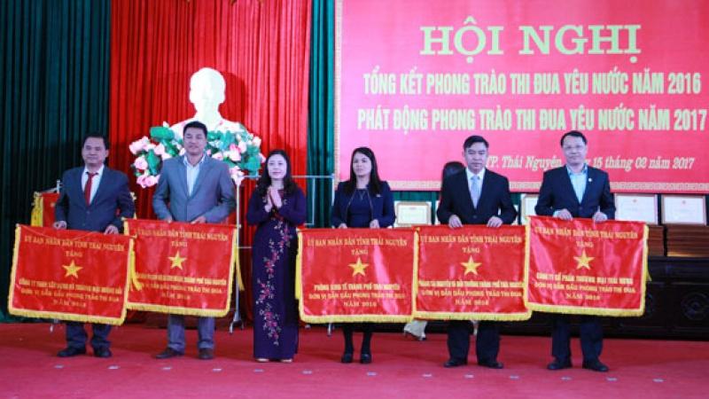 TP Thái Nguyên phát động phong trào thi đua yêu nước năm 2017