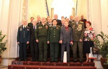 Bộ trưởng Quốc phòng Ngô Xuân Lịch gặp gỡ các cựu chiến binh Nga