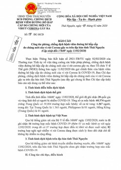 thai nguyen chua ghi nhan truong hop nao mac benh covid 19