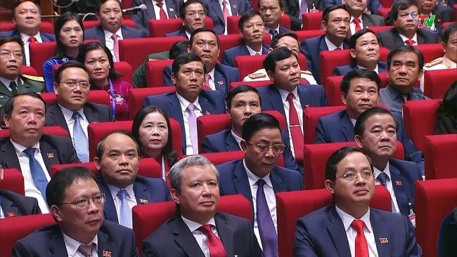 Đoàn đại biểu tỉnh Thái Nguyên đóng góp vào thành công Đại hội XIII của Đảng