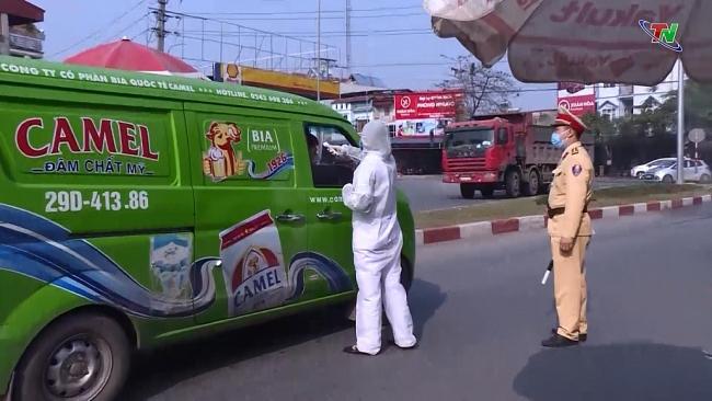 Công an tỉnh Thái Nguyên quyết liệt phòng, chống dịch COVID-19