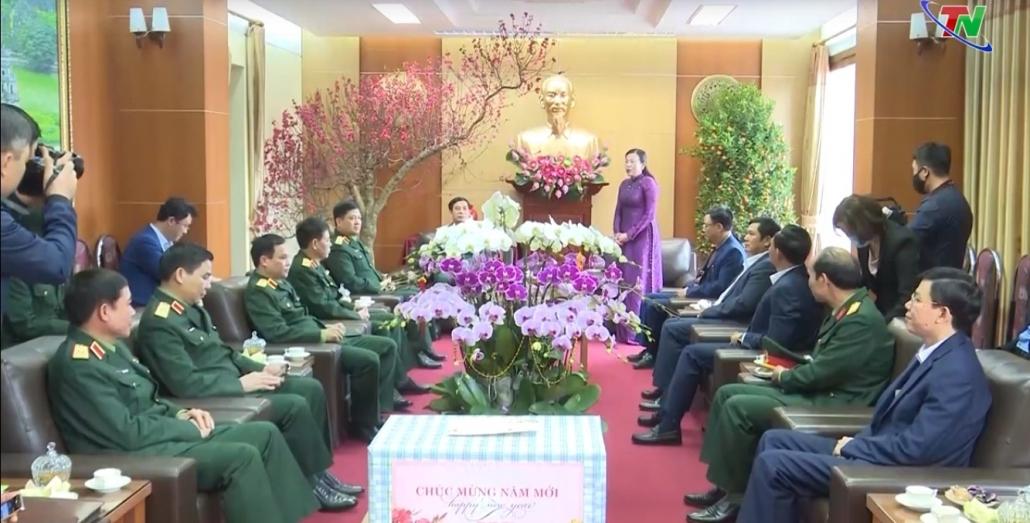 Lãnh đạo Bộ Quốc phòng thăm và chúc Tết tại Thái Nguyên
