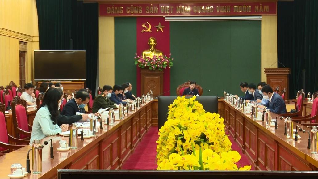 Đồng chí Bí thư Tỉnh ủy tiếp công dân định kỳ tháng 2 năm 2021