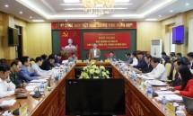 hoi nghi ban thuong vu tinh uy thai nguyen thang 2 nam 2019