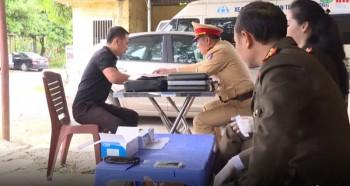 Thái Nguyên: Phát hiện 6 lái xe dương tính với chất ma túy