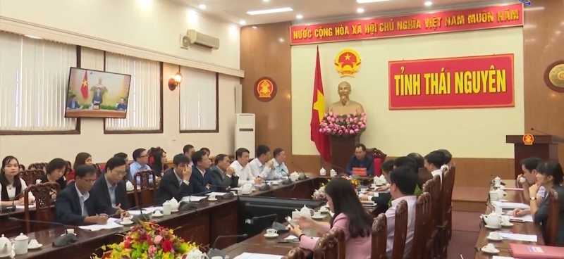 thai nguyen tham du hoi nghi truc tuyen tong dieu tra dan so va nha o nam 2019