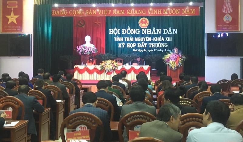 ky hop bat thuong hdnd tinh thai nguyen thong qua nhieu van de thuoc tham quyen