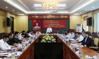 hoi nghi ban thuong vu tinh uy thai nguyen thang 3 nam 2019