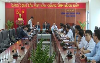 Bộ Y tế kiểm tra công tác phòng, chống dịch bệnh COVID-19 tại Thái Nguyên