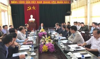 Lãnh đạo tỉnh kiểm tra công tác phòng, chống dịch COVID-19 tại thị xã Phổ Yên