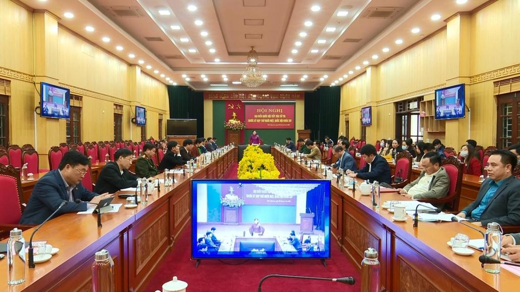 Tiếp xúc cử tri trước Kỳ họp thứ mười một, Quốc hội khoá XIV