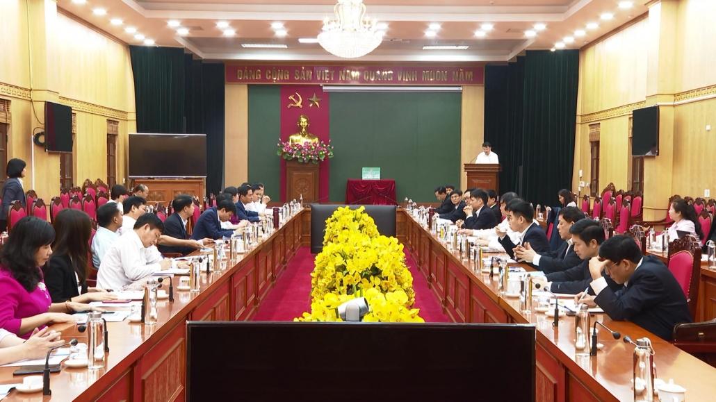 Ngân hàng Chính sách xã hội Việt Nam làm việc tại Thái Nguyên