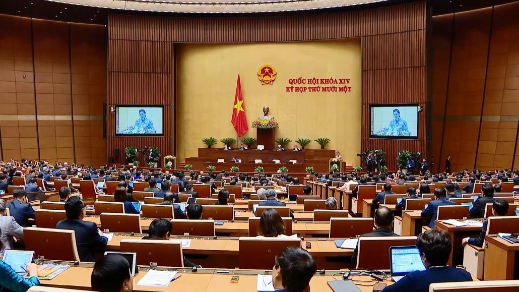 Khai mạc trọng thể Kỳ họp thứ 11, Quốc hội khóa XIV