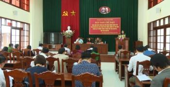 Họp Ban Chỉ đạo thực hiện điều chỉnh địa giới hành chính TP Thái Nguyên và các huyện Phú Lương, Đồng Hỷ, Phú Bình
