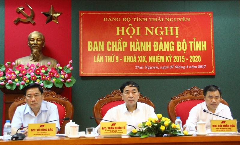 Hội nghị Ban Chấp hành Đảng bộ tỉnh lần thứ 9, khóa XIX