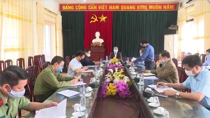 Kiểm tra việc thực hiện phòng, chống dịch Covid-19 tại thị xã Phổ Yên