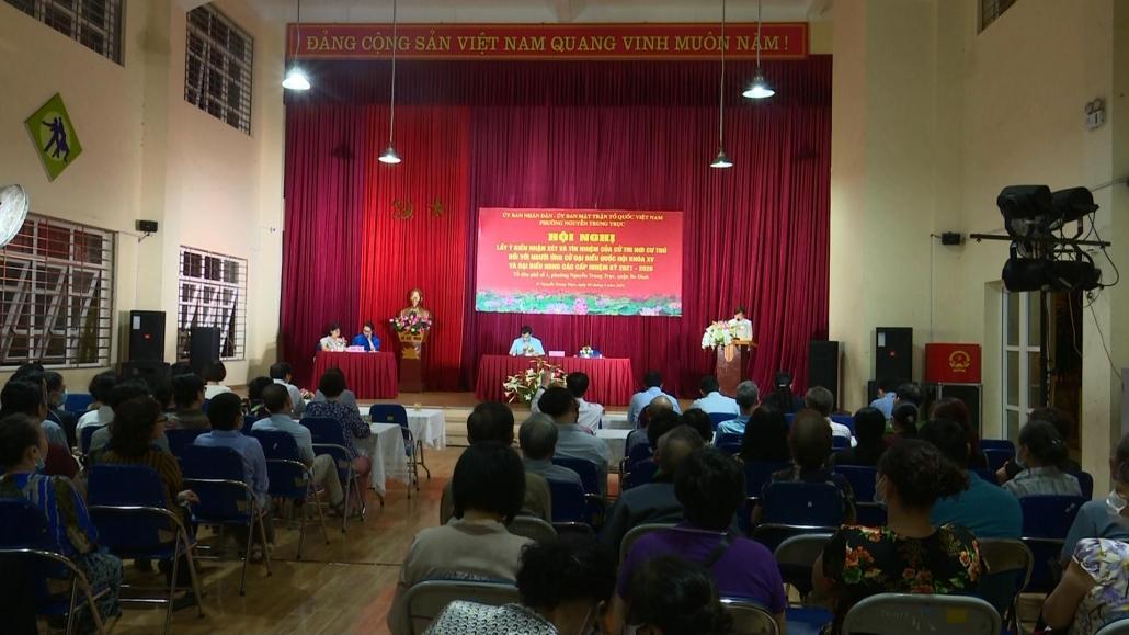 Đồng chí Nguyễn Thanh Hải được cử tri nơi cư trú tín nhiệm cao