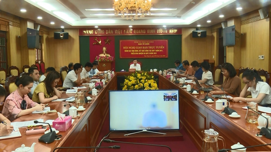 Tiếp tục nâng cao chất lượng hoạt động Ngành Tổ chức xây dựng Đảng