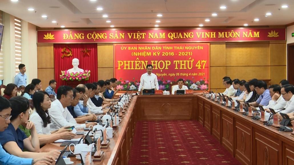 Phiên họp không giấy tờ - bước khởi đầu trong thực hiện chính quyền số tỉnh Thái Nguyên - đã psts