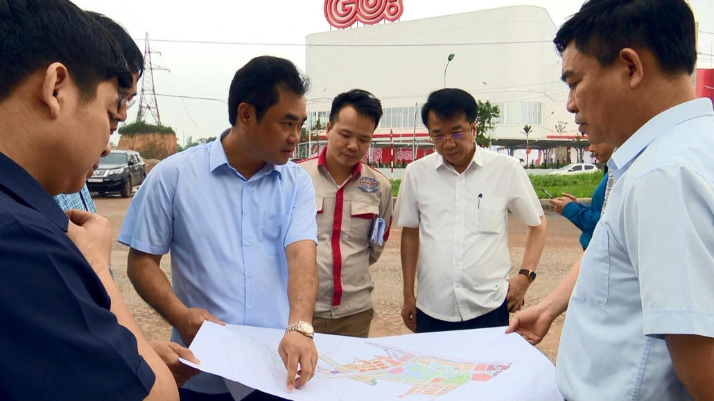 Kiểm tra hệ thống hạ tầng giao thông kết nối vào Trung tâm thương mại GO Thái Nguyên