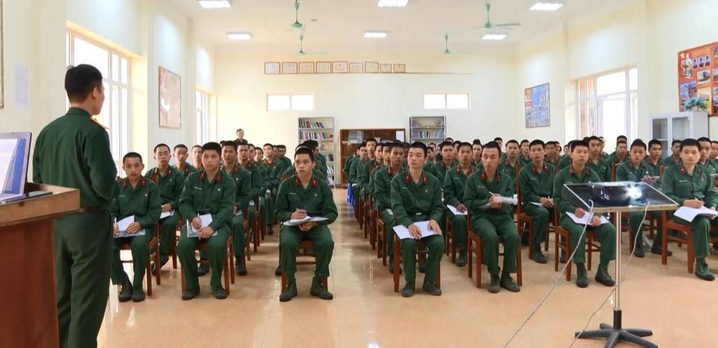 Lữ đoàn Pháo binh với nhiệm vụ huấn luyện tân binh năm 2021