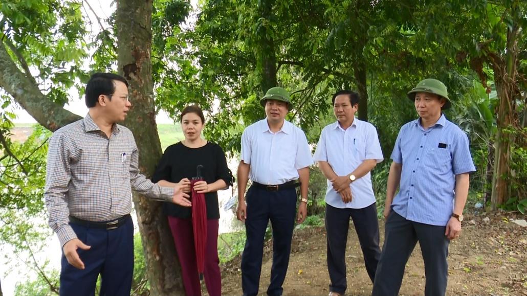 Lãnh đạo tỉnh chỉ đạo công tác khắc phục hậu quả do lũ ống tại huyện Đại Từ