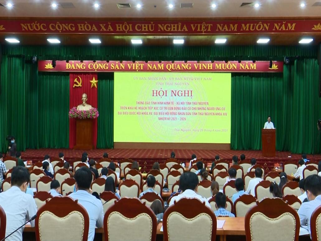 Thông tin tình hình kinh tế - xã hội tỉnh cho những người ứng cử đại biểu Quốc hội khóa XV, đại biểu HĐND tỉnh khóa XIV - đã psts 29.4