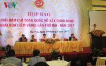 phat dong giai bao chi bua liem vang lan thu 2 nam 2017