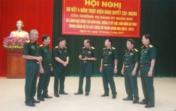 Quân khu 4: Nâng cao công tác giáo dục, quản lý kỷ luật, bảo đảm an toàn