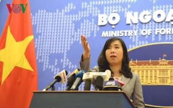 Yêu cầu Trung Quốc chấm dứt cho máy bay ném bom diễn tập ở Hoàng Sa
