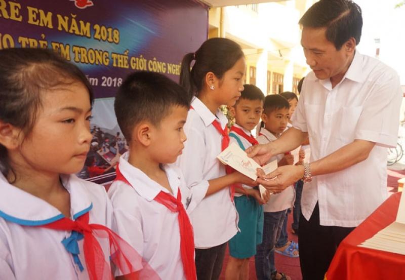 thai nguyen phat dong thang hanh dong vi tre em nam 2018