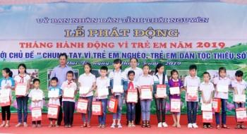 thai nguyen phat dong thang hanh dong vi tre em nam 2019
