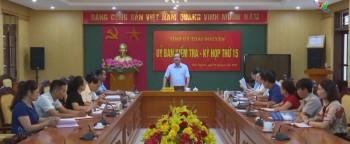 Ủy ban Kiểm tra Tỉnh ủy Thái Nguyên họp kỳ thứ 15