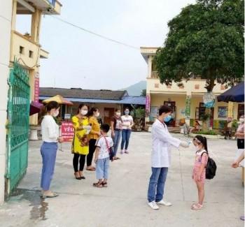 Các trường học tiếp tục thực hiện nghiêm các biện pháp phòng, chống dịch