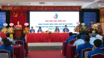 doan thanh nien truong dai hoc nong lam thai nguyen to chuc dai hoi lan thu xx