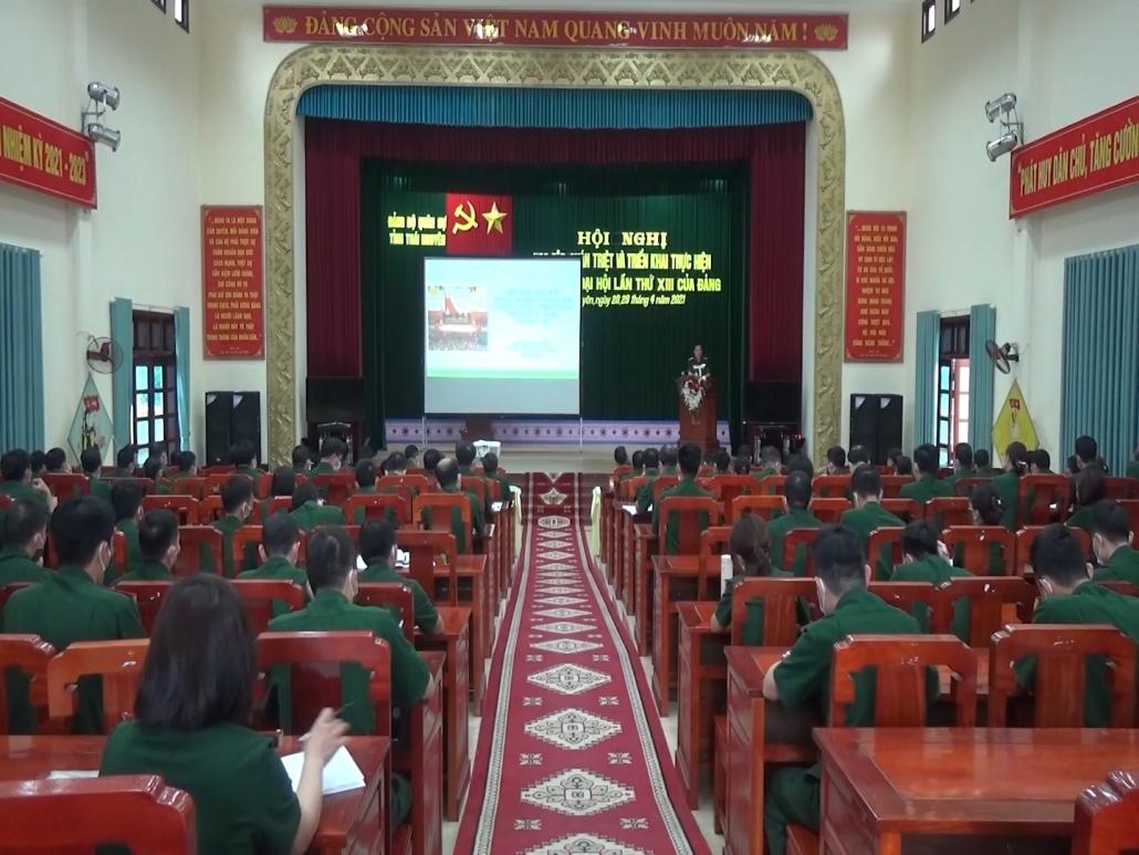 Quán triệt và triển khai thực hiện Nghị quyết Đại hội lần thứ XIII của Đảng